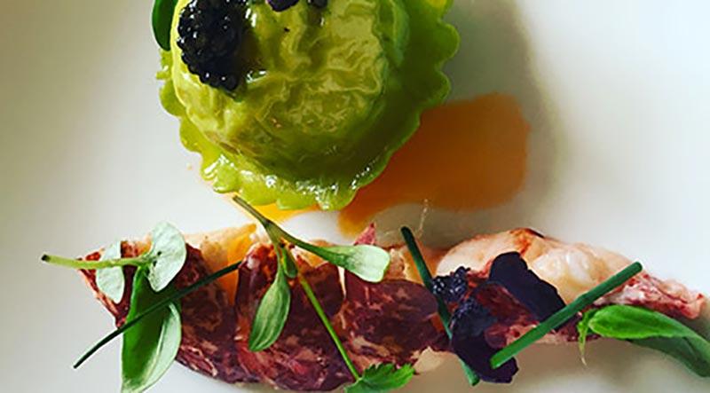 Michael Tweedie's signature dish