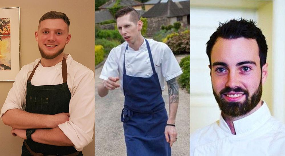 L-R: Romulad Bukaty, Michael Tweedie and Killian Crowley.