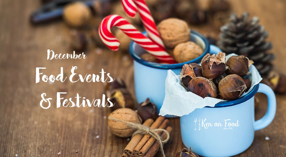 December food festivals and events.