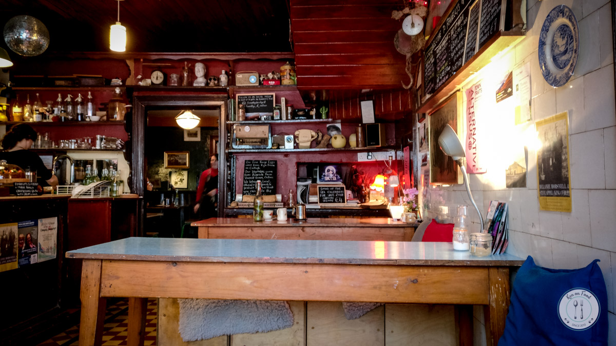 Inside the front bar / café area of Fennelly's