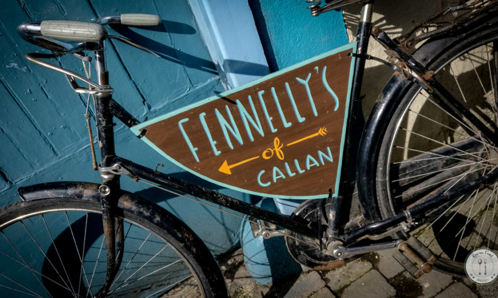 A bike outside the door of Fennelly's, Callan. Photo: Ken McGuire