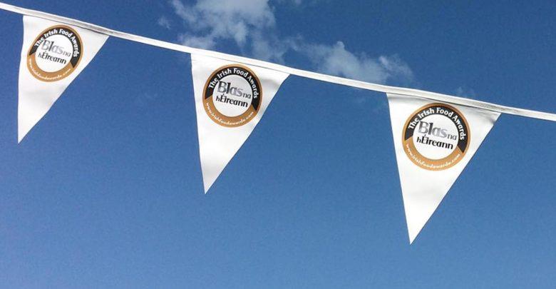 Irish Food Awards banners flying in Dingle. Photo: Blas na hEireann/Facebook