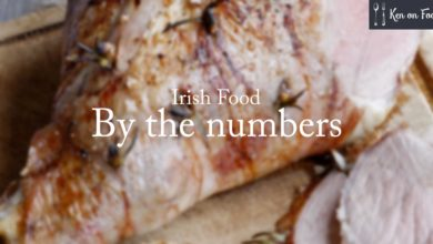 Irish Food by the numbers