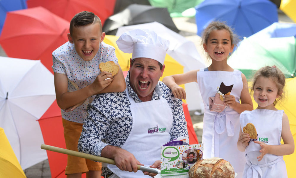 Edward Hayden, pictured at the launch of the Enniscorthy Rockin' Food Festival. Photo: Domnick Walsh