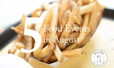 5 Food Events In August