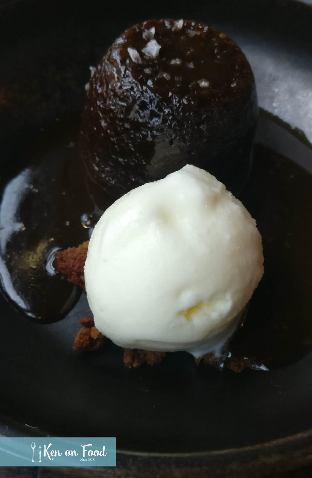 Sticky toffee pudding at Butcher. Photo: Ken McGuire/kenonfood.com
