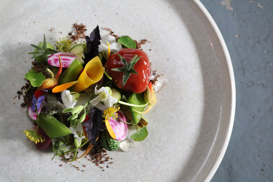 Food at Chestnut, West Cork. Photo: restaurantchestnutwestcork.ie