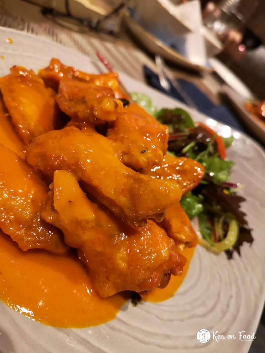 Chicken wings at Dillisk.