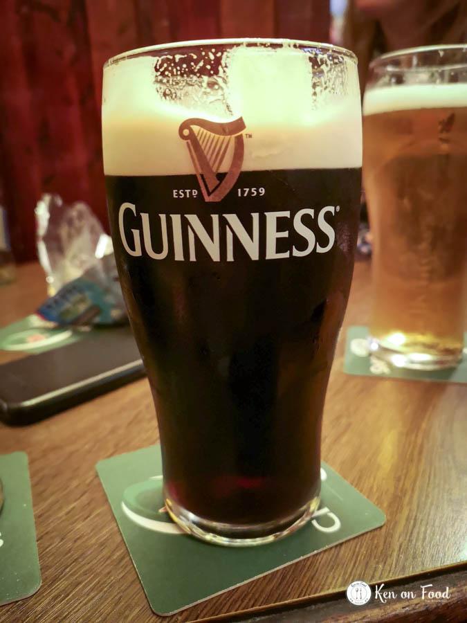 Guinness in Murphy's Bar, High Street, Galway