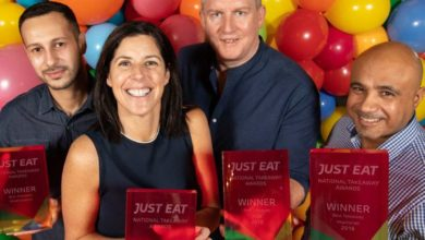 Some of the winners from the 2018 Just-Eat.ie National Takeaway Awards