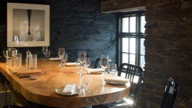 Inside Mews, West Cork. Photo: mewsrestaurant.ie