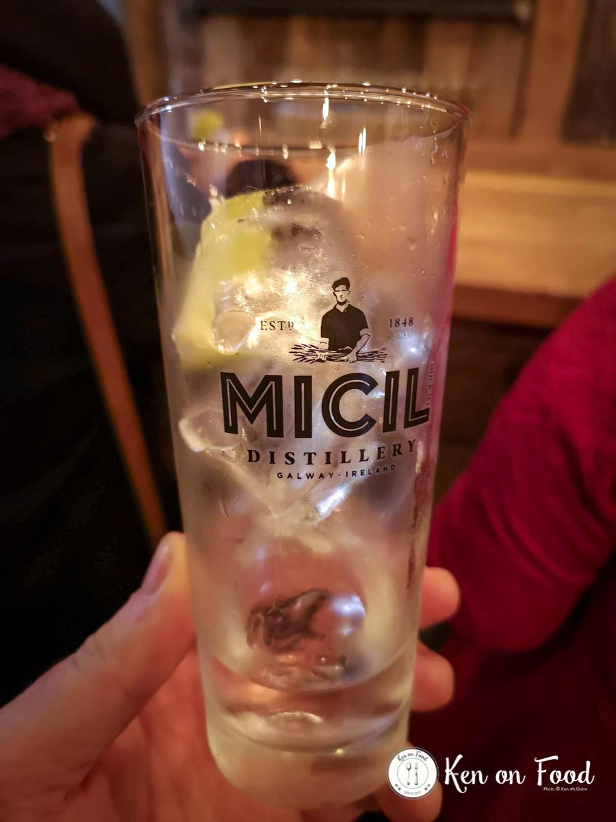 Gin tasting at Micil Distillery