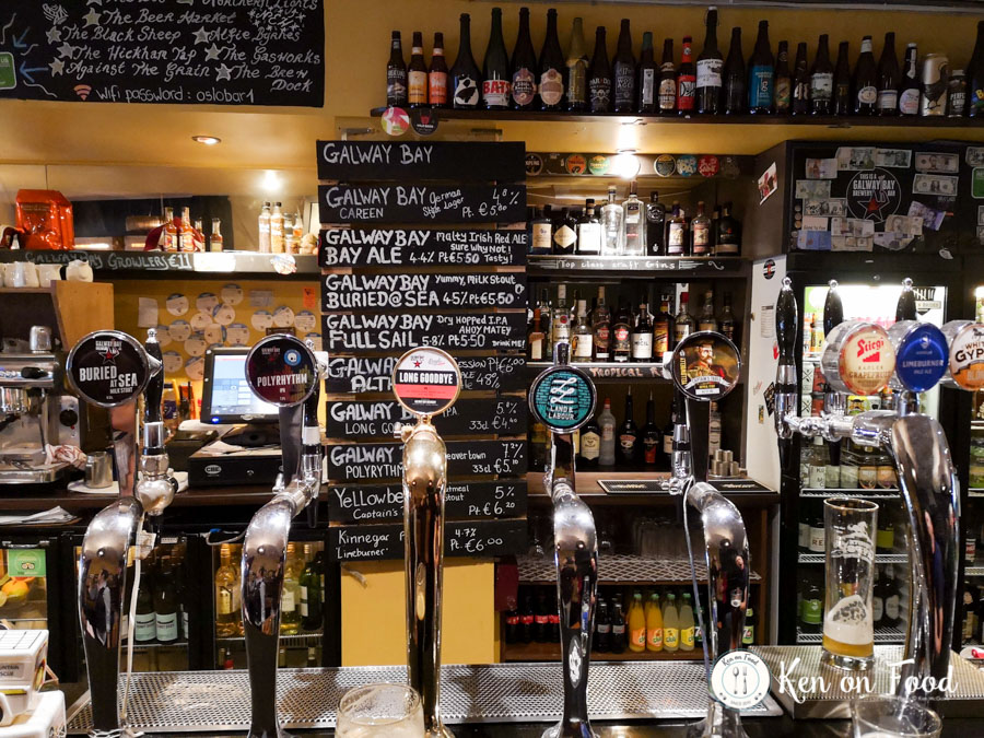 What's on tap at Oslo, Salthill, Galway