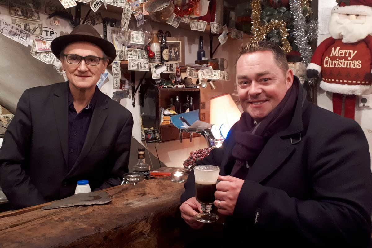 Michael Conway (The HOle in the Wall) and Neven Maguire. Photo: RTÉ