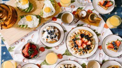Breakfast pancakes and eggs. Photo: Rachel Park/Unsplash
