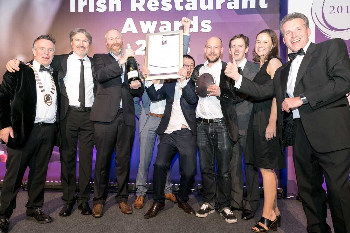 Dublin's Etto were overall Best Restaurant winners in 2018. Photo: Paul Sherwood/RAI