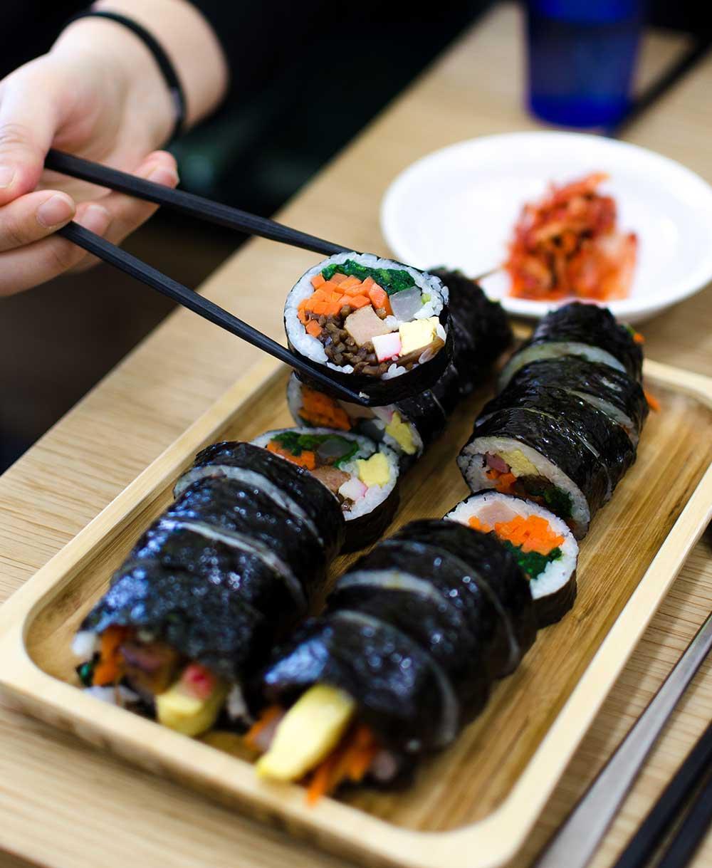 Sushi time. Photo: Filippo Faruffini/Unsplashv