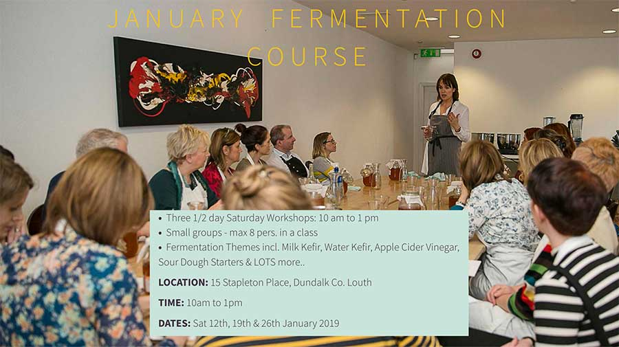 January fermention course