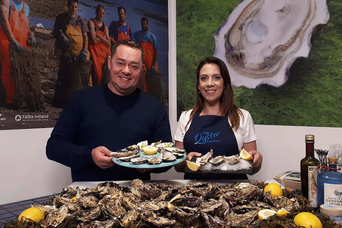 Wild Atlantic Oysters on Neven's Irish Seafood Trails
