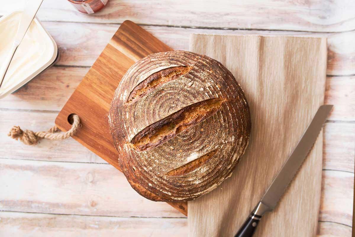 Souddough bread in Kilkenny. Photo: School of Food