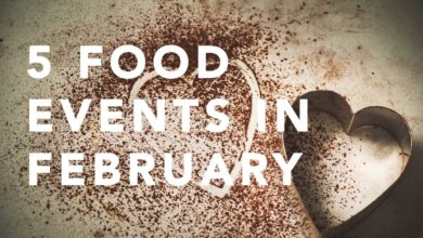 Food events in February