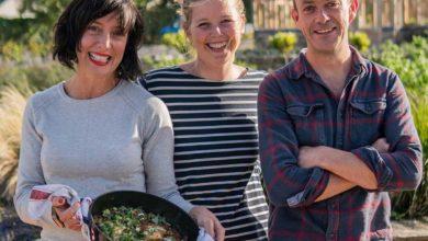 Karen Donohoe, Katie Sanderson and Michael Kelly