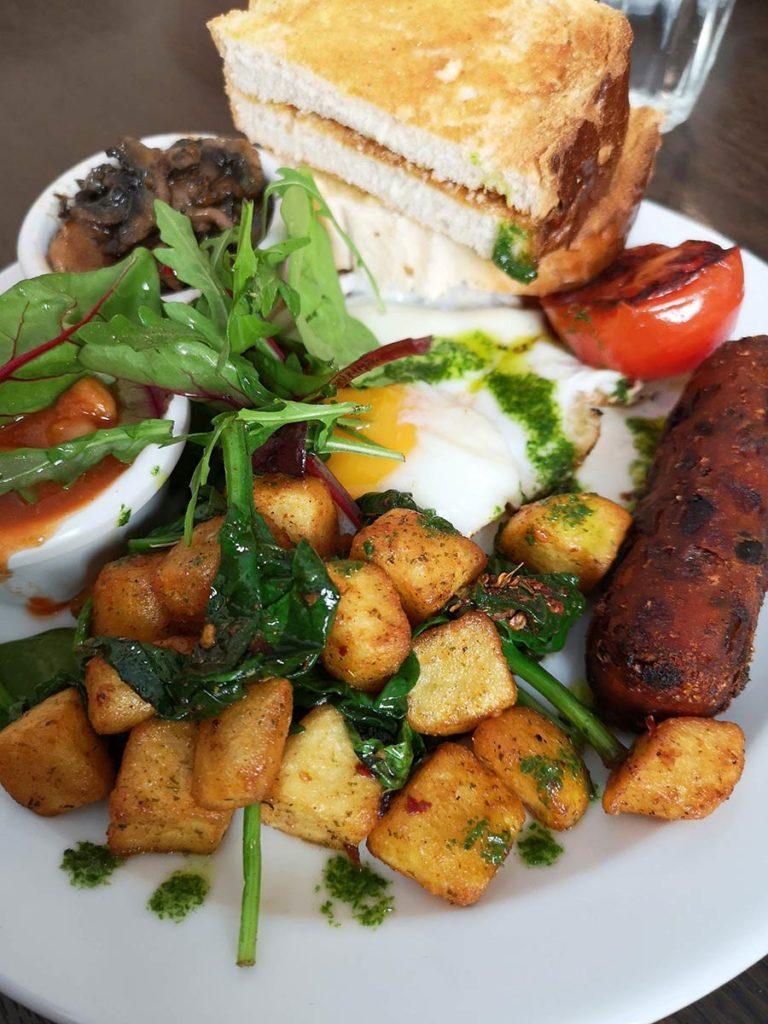 The Veggie breakfast at Nook Café & Restaurant