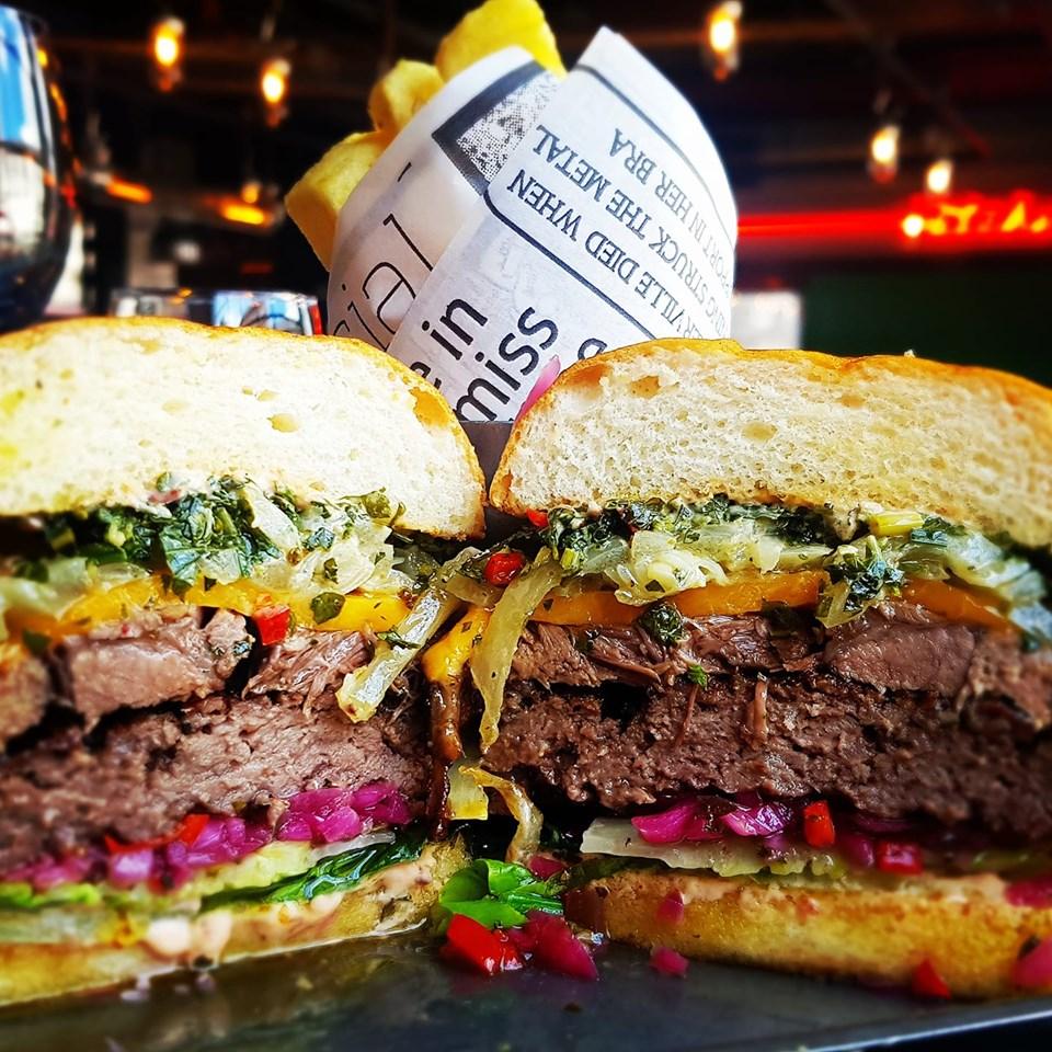 The Butcher Burger at Butcher, Kilkenny. Photo: butcherkilkenny/Facebook