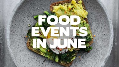 Food events in June