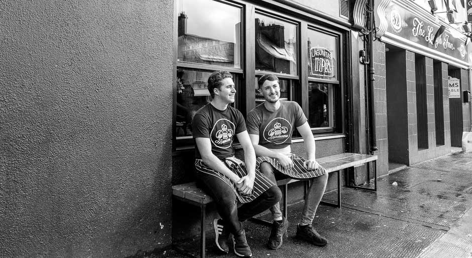 Rory McCormack and Cathal O'Connor of Handsome Burger, Galway.