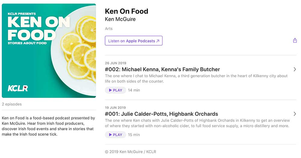 Ken on Food on Apple Podcasts