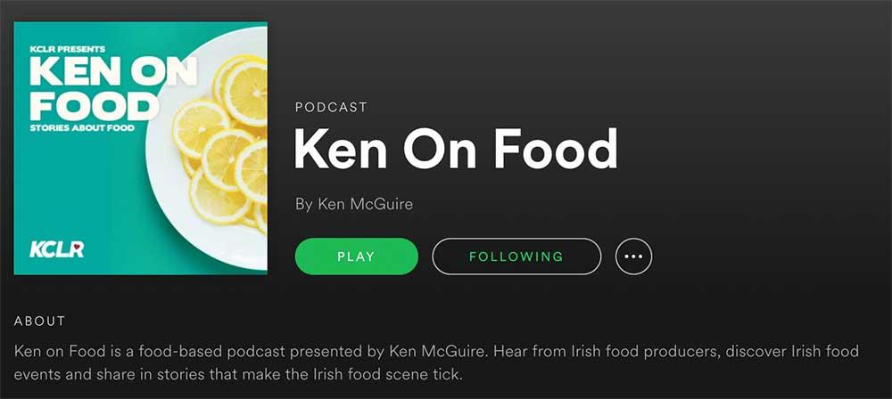 Ken on Food on Spotify