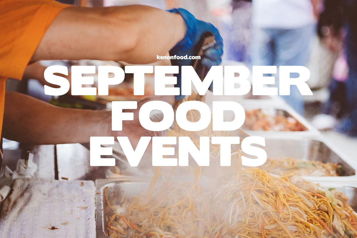 September Food Events