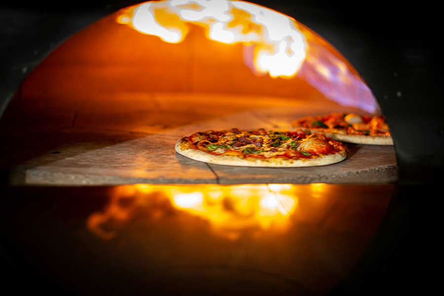 Wood fired pizza at Primo, Kilkenny