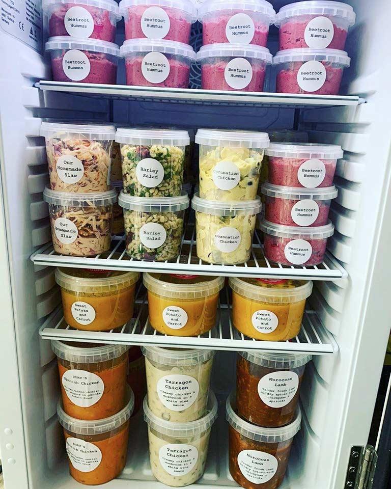The deli fridge at Face2 in Kilkenny. Pic: Face Kilkenny / Facebook