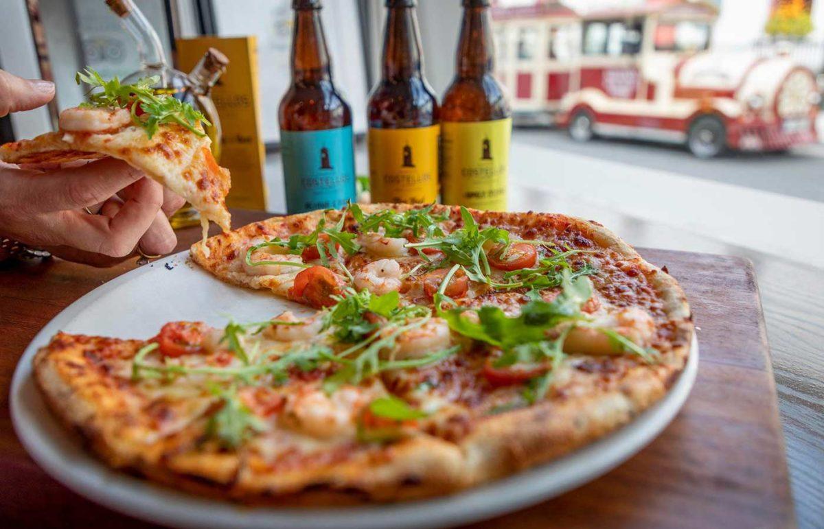 Fresh pizza & Costello's beers at La Rivista, Kilkenny